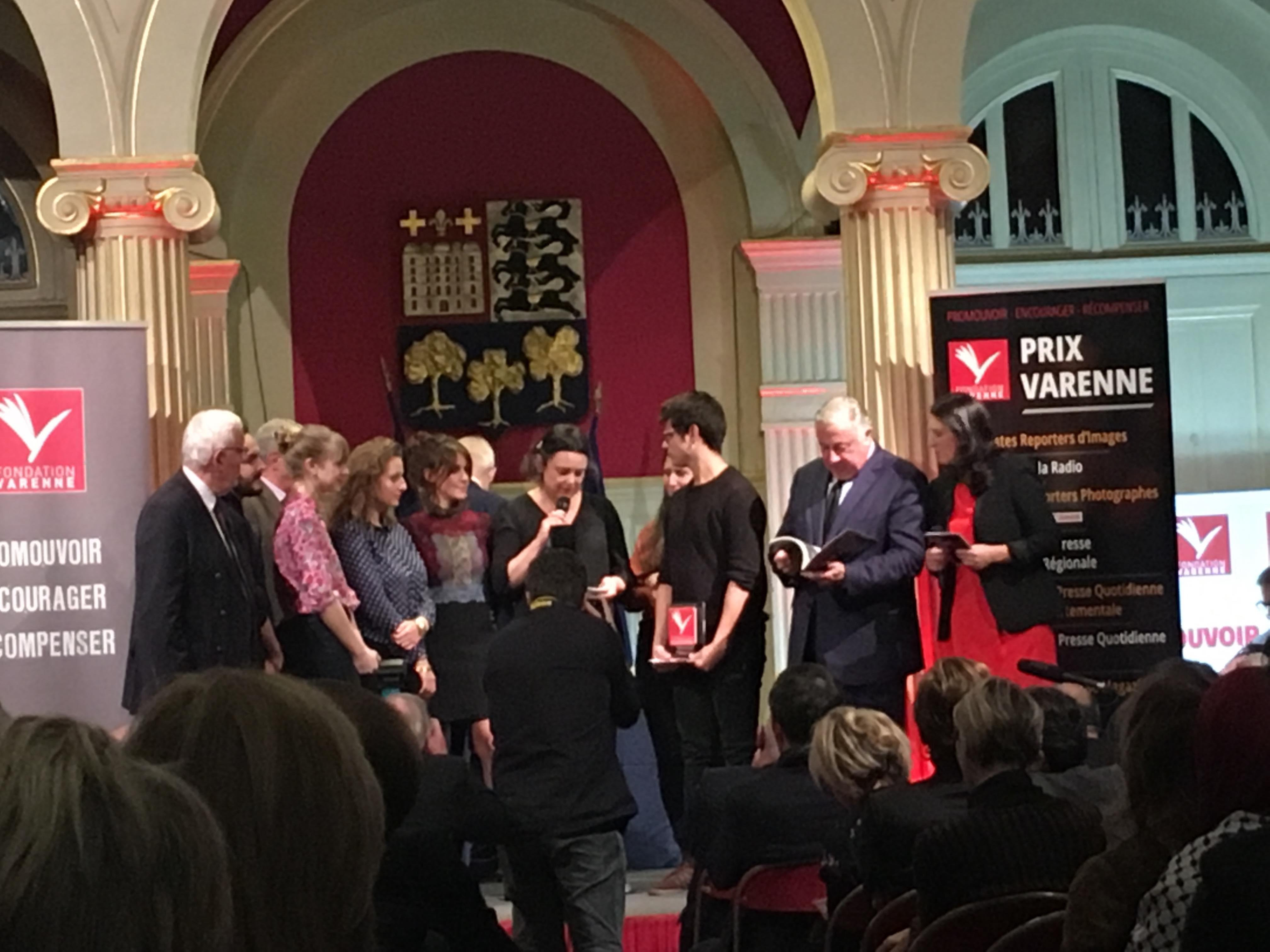 IJBA Prix Varenne journal école 2018,
